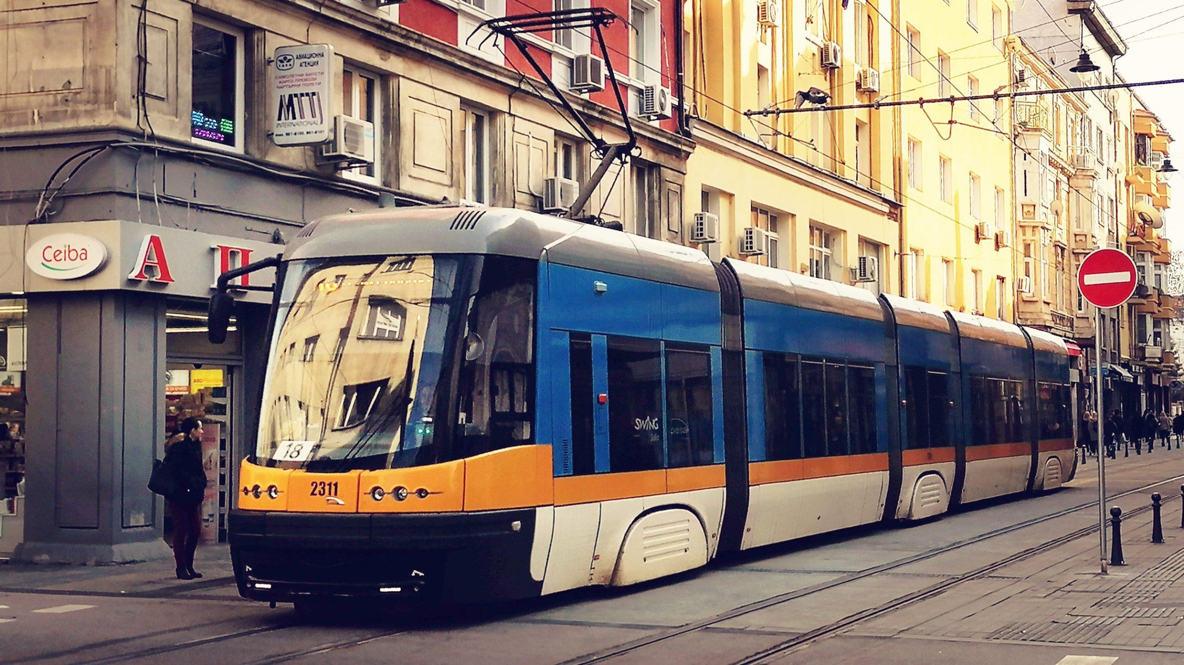 София: Трамвай 20 със скъсен маршрут през този уикенд