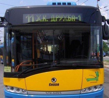 София: До 10 юли тролейбус 11 ще продължи да се движи по променен маршрут